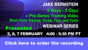Jake Bernstein | 3Ways 3 Days Webinar Series